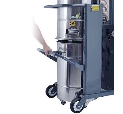 Máy hút bụi công nghiệp 3 pha -              Công suất (KW)             4                               Áp lực (MMH 2O)             2900 (29Kpa)                               Lưu lượng (m3 / h)             318                               Tiếng ồn dB (A)