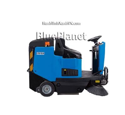 Xe quét rác nhà xưởng GADLEE GTS 1250E - Km/h - Dung tích thùng chứa rác: 105L - Cân nặng không gồm ắc quy: 300kg - Kích thước (LxWxH): 1690 x 1010 x 1170 mm Xe quét rác công nghiệp là máy chuyên dùng để làm sạch, khu vực khó bề mặt lớn. Phù  h