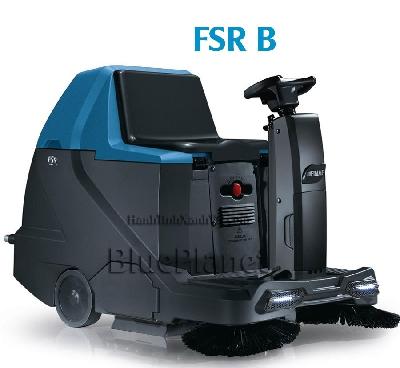 Xe quét rác công nghiệp ngồi lái - quét hông (V/W): 24/90 - Motor trợ lực (V/W): 24/300 - Bộ lọc (V/W): 24/80 - Ắc quy (V/Ah): 12/150 - Thời gian làm việc (h): 3-4 - Khả năng làm việc (m2/h): 4500 - Thùng chứa rác (L): 65 - Tốc độ làm việc (km