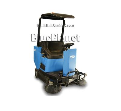 Xe quét rác sàn nhà xưởng - i đa: 7Km/h - Dung tích thùng chứa rác: 105L - Cân nặng không gồm ắc quy: 320kg - Kích thước (LxWxH): 1690 x 1010 x 2070 mm Xe quét rac công nghiệp là máy chuyên dùng để làm sạch, khu vực khó bề mặt lớn.