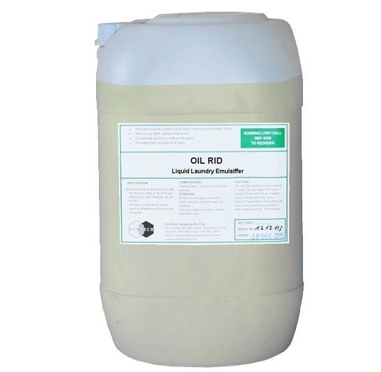 OIL RID Hóa chất nhũ tương làm mềm vết dầu mỡ