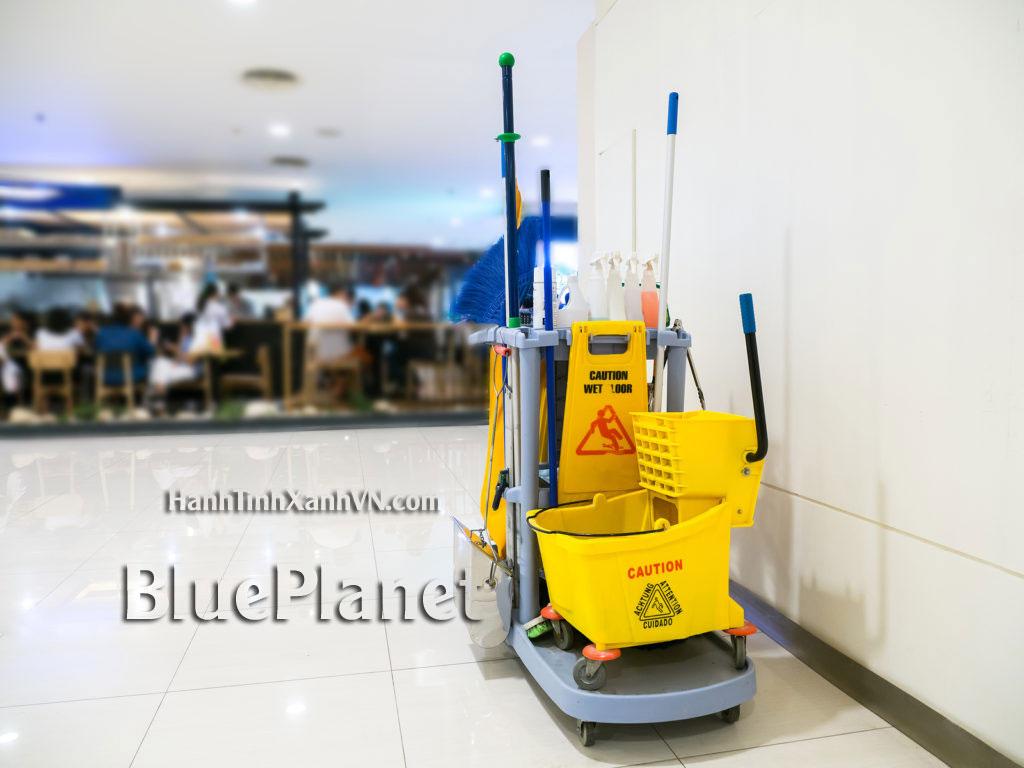 Báo giá bán Dụng cụ vệ sinh công nghiệp tại Đà Nẵng giá rẻ - BluePlanet 0938.856.733