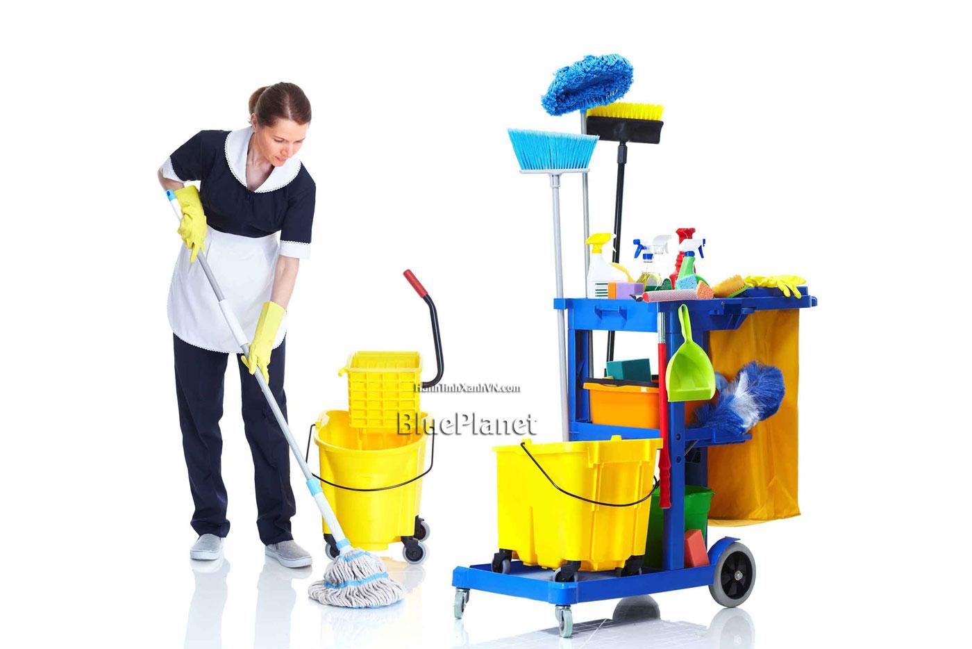 Báo giá bán Dụng cụ làm vệ sinh công nghiệp giá rẻ - BluePlanet 0938.856.733
